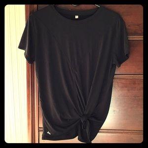 NWOT. Joy Lab black tie waist gym tshirt.